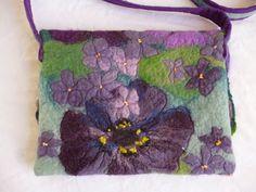 MarmaladeRose: Violets and Pansies