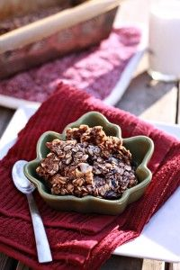 Nutella Baked Oatmeal