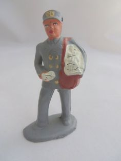 Mailman Toy Lead Figure Vintage by PECollectibles on Etsy