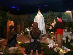 No Maior Presépio do Mundo em movimento venha assistir a aparição da Nossa Senhora do Rosário de Fátima aos pastorinhos!  Em São Paio de Oleiros.  Visite-nos !
