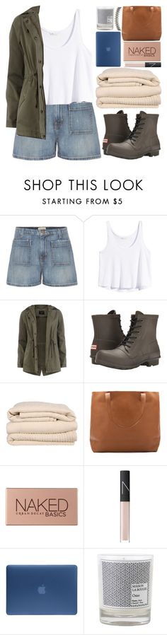 """"""".."""" by igedesubawa ❤ liked on Polyvore featuring Current/Elliott, H&M, Dorothy Perkins, Hunter, Brahms Mount, Urban Decay, NARS Cosmetics, Incase, Maison La Bougie and Assya London"""