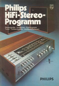 PHILIPS PROGRAMM HI FI  1970!!!   .....................Please save this pin.   .............................. Because for vintage collectibles - Click on the following link!.. http://www.ebay.com/usr/prestige_online