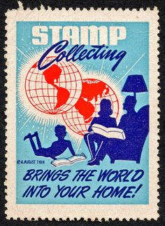Stamp collecting brings the world together.