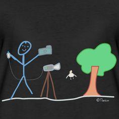 Strichmännchen Stick figure   Fotograf Strichmännchen Beruf Arbeit Kamera Model - Frauen Premium T-Shirt Outdoor Survival Gear, Rugs On Carpet, Carpets, Bts Stuff, Stick Figures, Models, Cloth Bags, Pretty Pictures, Sea Shells