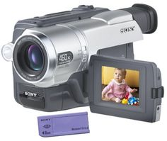 """Sony CCDTRV308 Hi8 Camcorder with 2.5""""LCD and Video Light"""
