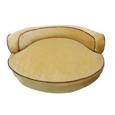 Paws and Claws Orthopedic Luxor Round Bolster Pet Bed - 45''
