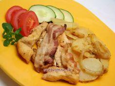 Chili Sauce, Ketchup, Poultry, Potato Salad, Pork, Food And Drink, Menu, Potatoes, Treats