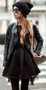 #winter #fashion / all black everything