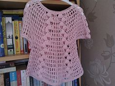 Ravelry: Design B - Crochet Tops pattern by Sirdar Spinning Ltd.    I really want to get this pattern, I like this top. But how??? Anyone have ideas??