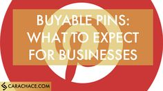 Buyable Pins on Pinterest - Cara Chace