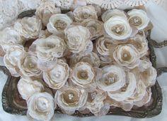 Burlap Flowers for Decorations DIY Burlap by BurlapandBlingStudio