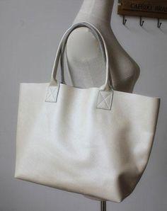 Genuine Leather Bag Handmade Vintage Leather Tote Bag Shoulder Bag Handbag  For Women Fossil Bags 0e96064e9cc45