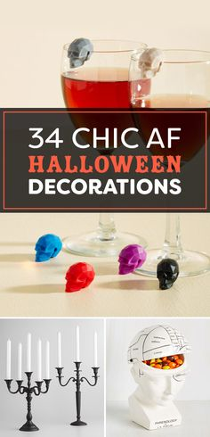 34 Chic AF Halloween Decorations You'll Want To Keep Up All Year