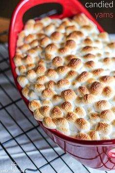 Holidays Candied Yams Recipe~ Previous pinner said: Instead of canned yams, I used fresh. Just let it cook longer. Cook with marshmallows on top so the yams don't dry out. Beware: if you cover with foil, the marshmallows will melt into the yams. Thanksgiving Recipes, Fall Recipes, Holiday Recipes, Thanksgiving Centerpieces, Recipes Dinner, Canned Yams, Candied Yams Recipe Canned, Can Yams Recipe, Recipe Recipe