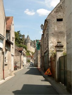Around Loche,lovely French town in the Loire Valley