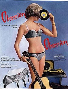 Vinyl Obsession. #music #records #kitsch http://www.pinterest.com/TheHitman14/musical-kitsch-%2B/