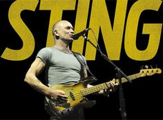Sting billetter, konserter og turnédatoer.  Billettservice.no Get Ready, Rock, Concert, Stone, Recital, Concerts, Rock Music, Festivals, The Rock
