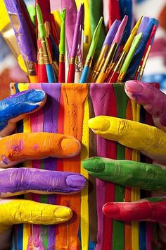 Colors are life - i colori sono la vita - Dielle Web e Grafica #colori #colors #couleurs #farben #colores #culoare