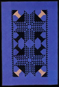 Amish quilt, ca. 1930, Ohio.  Amish Quilt inspiration: ~♥~