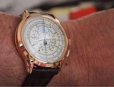 TIME&TIDE: Julian's Patek Philippe 5975-R (175th Anniversary Multi-Scale Chronograph)