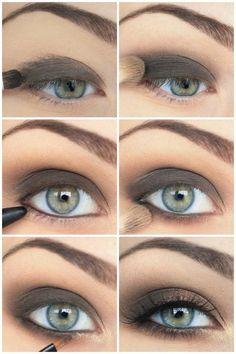 Makeup: DIY Dark Smoky Makeup