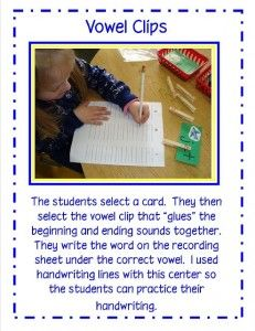 Phonics Fun | The Little Learning Zone  Vowel Clips