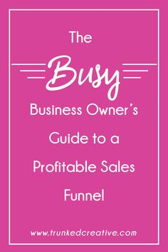 Tired of trading hours for dollars, and reading to start securing passive income on autopilot? Learn my step-by-step system for generating a profitable sales funnel that WORKS!