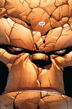 The Thing in Fantastic Four (Original Sin). Comic Book Artists, Comic Book Characters, Marvel Characters, Comic Artist, Comic Character, Comic Books Art, Marvel Comics, Marvel E Dc, Marvel Heroes