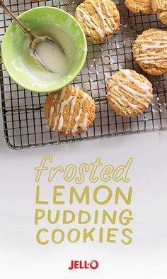 Spring is in full swing, but these Frosted Lemon Pudding Cookies will keep you cool at your Easter family picnic. These JELL-O- based cookies are so simple to make, you can whip up another batch when the first one disappears.
