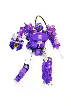 Lego Transformers - Soundwave