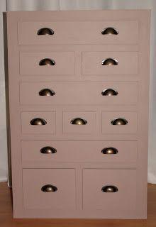 Meuble meuble en carton pinterest voir les meilleures id es sur les th mes meuble carton - Cree un meuble salle de bain en dur ...