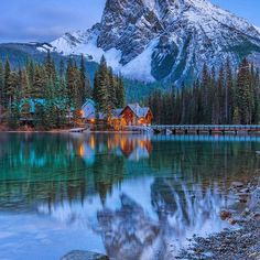.Emerald Lake, British Columbia. Ive been going through some images from late last year and found this alternate composition of this scene. One of the most magical places in the Canadian Rockies. I had the opportunity to stay here at @emeraldlakelodge re. #<Tag:0x007f2c9ed>, #<Tag:0x007f2c9ed> and #<Tag:0x007f2c9edbc140> #photography #emeraldlake #outdoors #yohonationalpark #britishcolumbia #yoho #logcabin #amazing #instafollow #tagforlikes #photooftheday