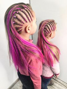 Quick and Easy Back to School Hairstyles for Teens - Braids # Braids easy for teens # fancy Braids for kids # Braids africanas recogido Teen Hairstyles, Little Girl Hairstyles, Braided Hairstyles, Back To School Hairstyles For Teens, Braids For Kids, Braids Easy, Fancy Braids, Rave Hair, Girl Hair Dos
