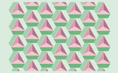 geometric triangle pattern nurgonzalez
