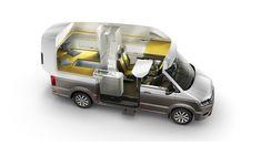 The new Volkswagen California XXL concept van is the camper van of the future.