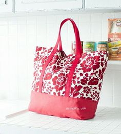 Tote Bag Sewing Patterns and Tutorials