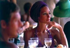American actress Marisa Berenson in Capri, (Photo by Slim Aarons/Hulton Archive/Getty Images) Slim Aarons, Lee Radziwill, Jet Set, Rita Hayworth, High Society, Brigitte Bardot, Palm Springs, Palm Beach, Tie A Turban