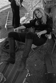 La preferida de los franceses: Brigitte Bardot.