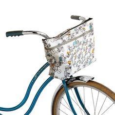 100+ Gifts the Woman in Your Life Will Fall Head Over Heels For.  Bike Tote $48 by POPSUGAR Might work for a walker also!