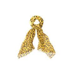ALEXANDER MCQUEEN, Silk Fashion Scarf, Leopard Skull Silk Scarf