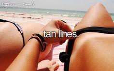summer: tan lines