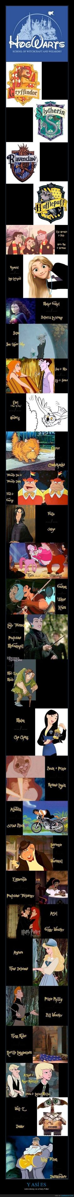 Y ASÍ ES - como disney ve a Harry Potter