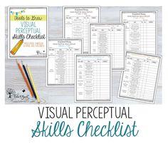 Visual Perceptual Skills Checklists