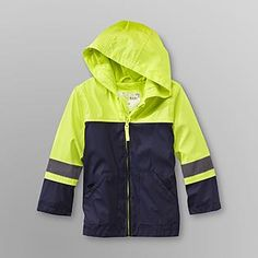 76ccfe2c9 WonderKids- -Toddler Boy's Hooded Reflective Rain Jacket Boys Rain Jacket,  Windbreaker, Raincoat