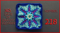 365 Days of Granny Squares Number 218