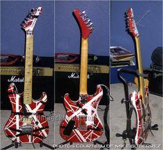 Eddie Van Halen's Guitar!! YES!