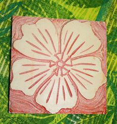 Another wonderful print block by cynthia st charles. very hibiscus looking to me.