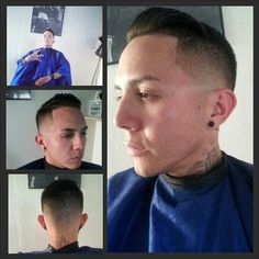 Pompadour fade #barber #fade