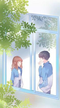 Romantic Anime Couples, Anime Couples Manga, Cute Anime Couples, Manga Anime, Anime Art, Anime Love Story, Anime Love Couple, Comics Love, Hunter Anime