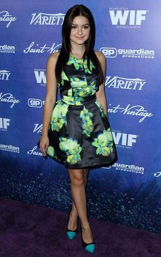Ariel Winter attends the Variety and Women in Film Pre-Emmy Event at Scarpetta on Friday, Sept. 21, 2012, in Beverly Hills, Calif.